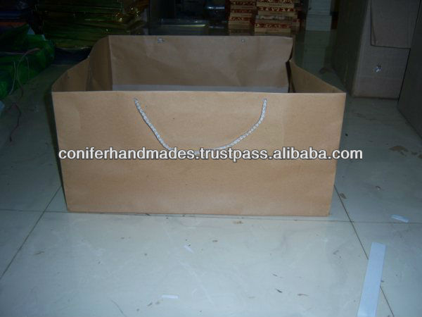 Brown Paper Cake Bags for Cake Shops and Bakeries