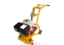 Highway pavement notching machine by longer handle