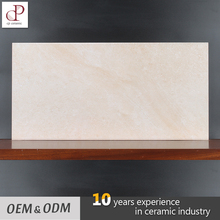 Glazed Rustic Kitchen Ceramic Wall Tile Pale Yellow Italian Wall Hard Matte Tiles