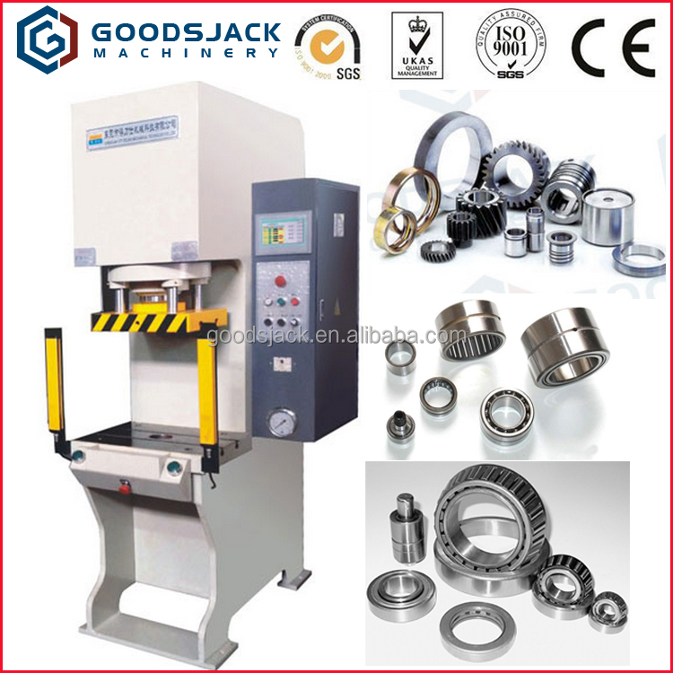 GSJ 100T C Type Servo CNC Automatic Hydraulic Sleeve Press Machine