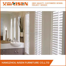 Vinyl Hollow Waterproof Window Plantation Shutters from China