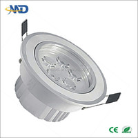 5W surfaced mounted led ceiling spotlight 90-260V Aluminum 3 years warranty 12w led ceiling light