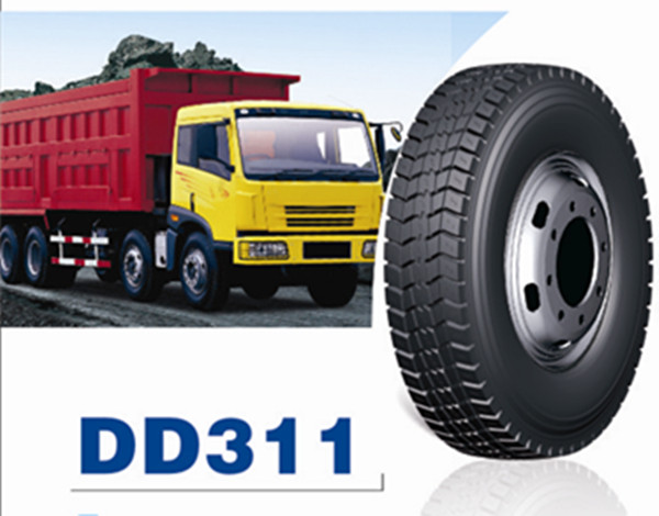 TRUCK AND DUMPER TIRES 12.00R20-20 DD311