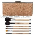 6pcs fashion design cosmetic brush set with a bag china china manufacturer made in china 2013 new products cosmetic