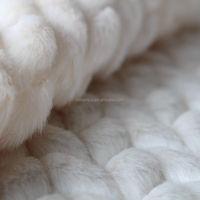 China supplier white cutting faux fur