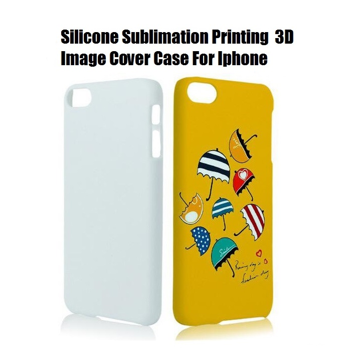 Silicone Korea Cute Cartoon Sublimation Printing Case 3D 2D Image Back Cover Case For Iphone 4 5 6 6S 7 7 8 Plus X