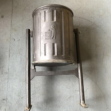 Outdoor Ductile Iron QT400 Sand Casting Waste Bin