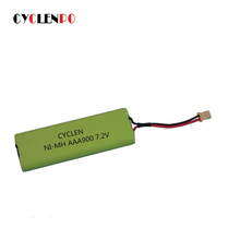 Manufacturer 7.2v aaa 900mah ni-mh rechargeable battery packs