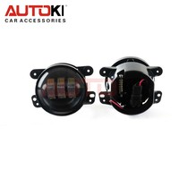 Autoki New 4 inch 30w Round Car Led Fog Light For Jeep Wrangler