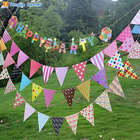 String bunting flag banners for wedding birthday banners