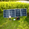 DIY solar system with 50w solar panel off-grid for home use