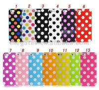 Cell phone case Polka dot ultra thin tpu case for iphone 5 5s, for iphone case tpu 5 5s 6 plus