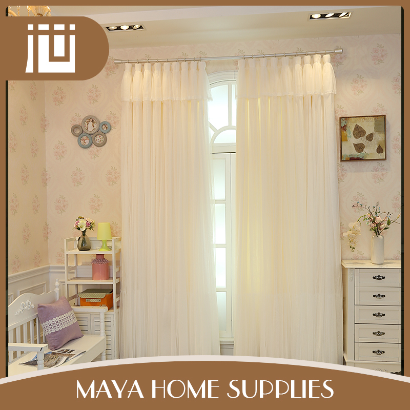 New arrival latest designs eco-friendly household wholesale sheer polyester curtain