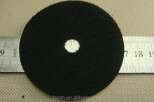 70mm Special type die cutting hook & loop dots with hole for grinding ceramics