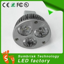 Factory supply high quality adjustable beam led blub spotlight
