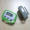 Electric holiday guide weight set and stride Plastic pedometers