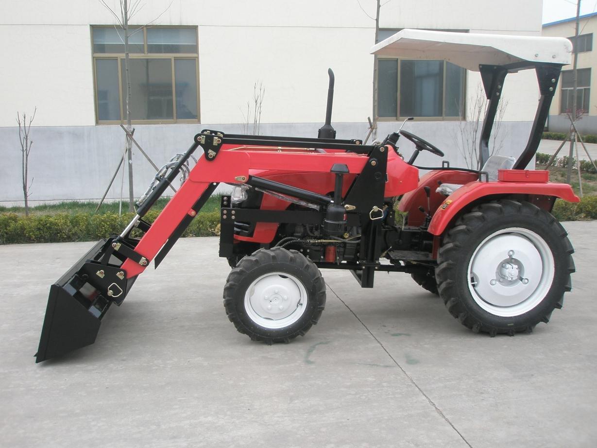 Mini Farm Tractor 4in1 Backhoe Loader,Lz304,30hp,4wd