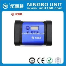 Digital air compressor,12v tire inflator,,mini car air pump YD-308