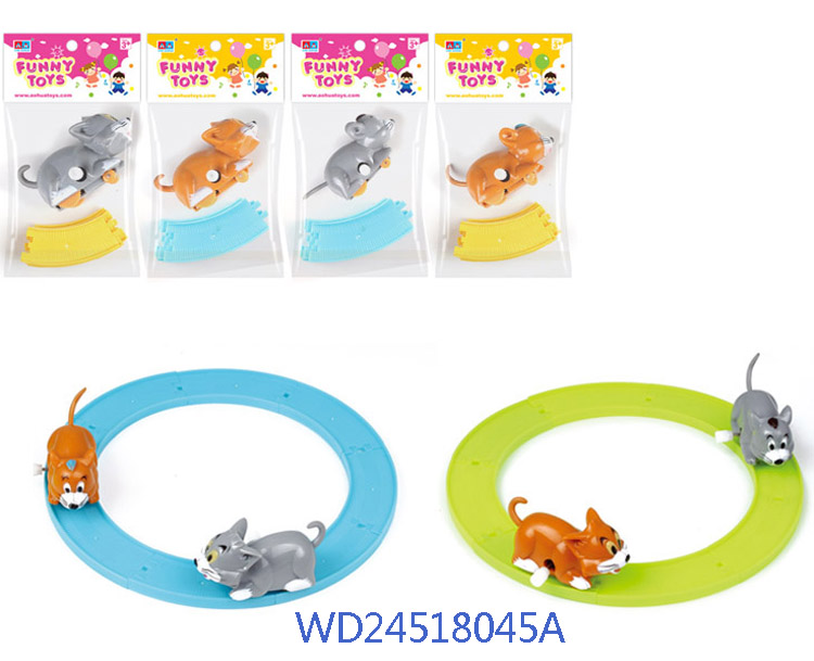 Brand new mini wind up toys with certificates WD24518045A