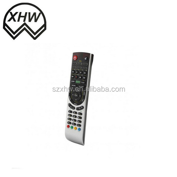 Hot selling IR universal remote control with learning funtion,led universal tv remote control