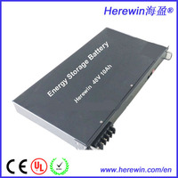 Wholesale high voltage high performance 48volt 10AH lithium battery for pv system