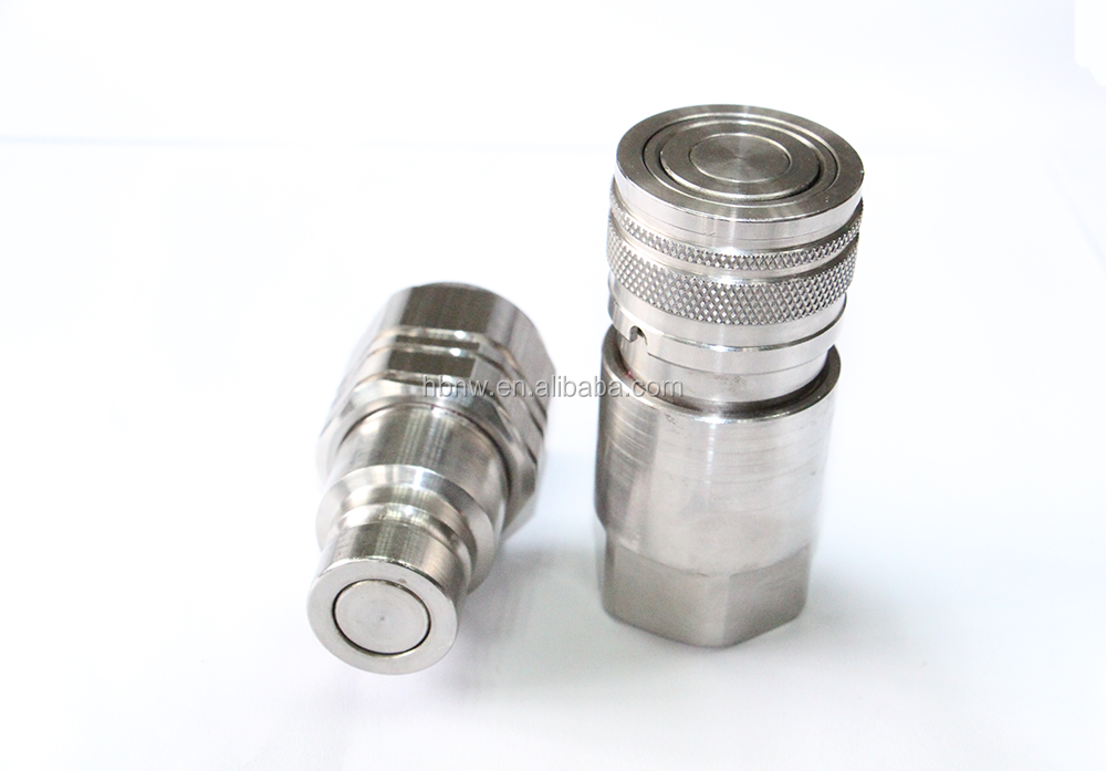Stainless Hydraulic Quick Coupler : List manufacturers of quick disconnect coupling buy