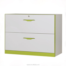 Hot Selling Depth metal wide two drawer file cabinet