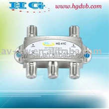 2015 DiSEqc Switch 4 in 1 and 2 in 1 factory price from hua gang