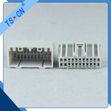 Male Female Electrical Waterproof Connector Plastic Auto Cable Car Housing Connector