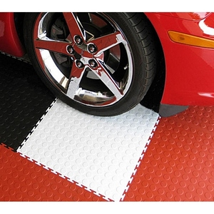 durable parking hot sell pvc garage interlocking click plastic flooring tile