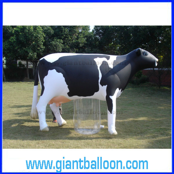 Giant Inflatable Milk Cow