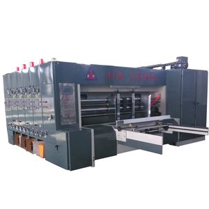 best sale best price 3 colors flexo ink printing slotting cardboard making machine
