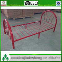 Stock power coating metal bed frame twin/ single size