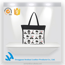 2015 Korean canvas polyester shopping trolley bag travelling