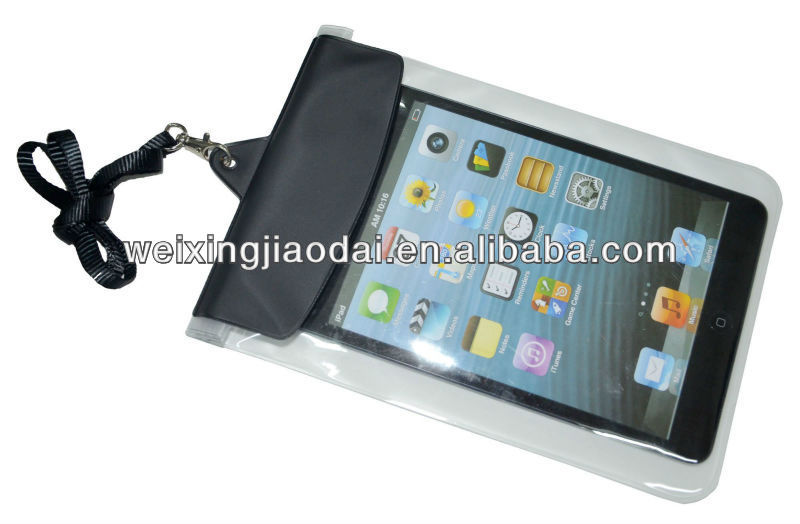 for ipad mini case/bag zippers waterproof bag Dongguan factory