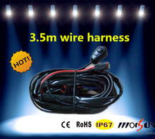Hot 12V 3.5m wire harnesswire harness with one DT connecto used for led light bar/led work light /hid work light