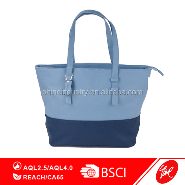 Fashion Women PU Shopper Tote Bag