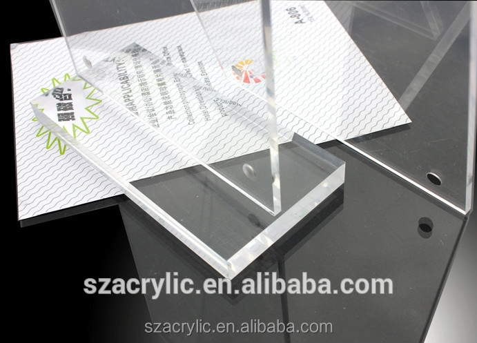 clear acrylic magnetic sign holder with high quality