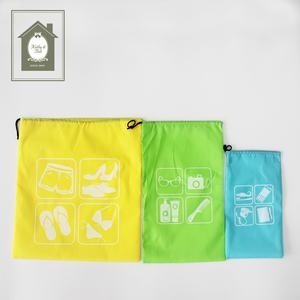 Best Fashionable Storage Drawstring Travel Bags Set of 3