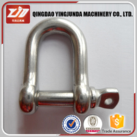 hot galvanized shackle marine use rigging hardware shackle with lock pin