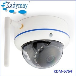 Kadymay wireless h.265 indoor dome ip poe camera 4.0MP high definition