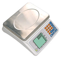 FURI electronic parts counting scale 30kg with large platform
