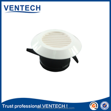 Plastic air louver and grille for HVAC ventilation