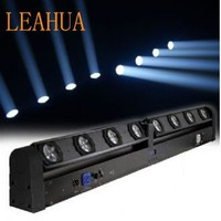 dj led bar Cheap dj 8*10w 4in1 RGBW Led Moving Head Beam light bar