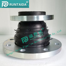 ANSI CS and SS flange 8inch EPDM reducing coupling expansion joint