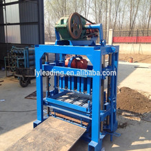 small QTJ4-40 Brick machinery to make concret block