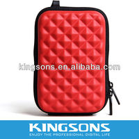 2013 Kingsons hot fancy abs padded camera case