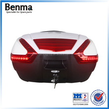 Supersize tail box with LED light motorcycle tail box luxury tail box