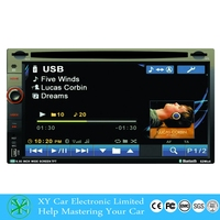 universal Car Radio Double 2 din Car DVD Player GPS Navigation In dash Car PC Stereo Head Unit video XY-D7062