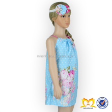 Fancy Floral Baby Girls Summer Pillowcase Dress Kids Latest Party Wear Dresses For Girls